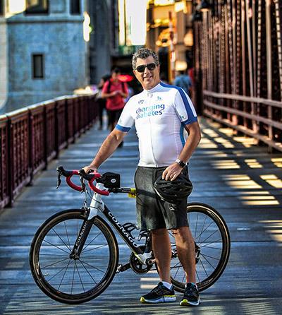 Dave on bike